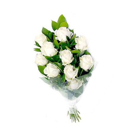 White roses to Greece