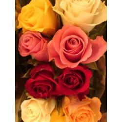 Διαφορα τριανταφυλλα - Τιμη ανθοπωλειου Πατρας
