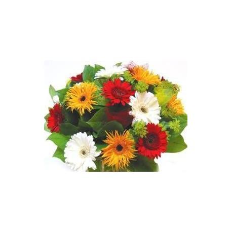 Flowers bouquet mix Gerbera