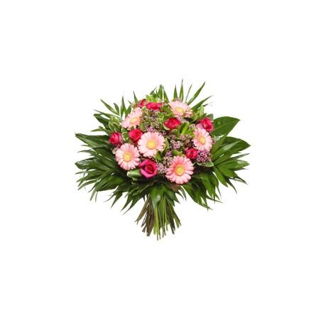 Μπουκετο με Ζερμπερες - Τριανταφυλλα