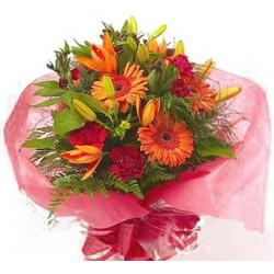 Bouquet mix Gerbera and Lilies