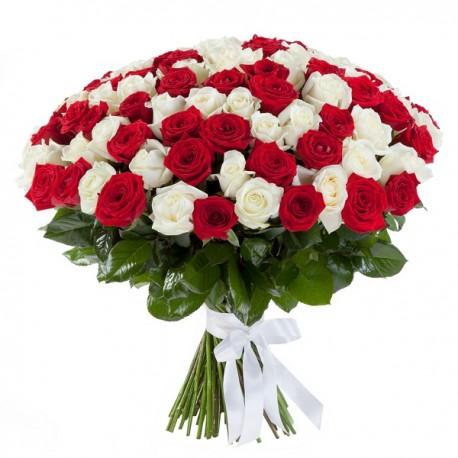 Μπουκετο με 101 τριανταφυλλα