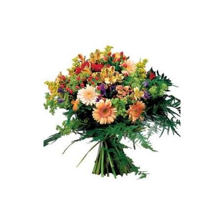 Μπουκέτο με διαφορα λουλουδια