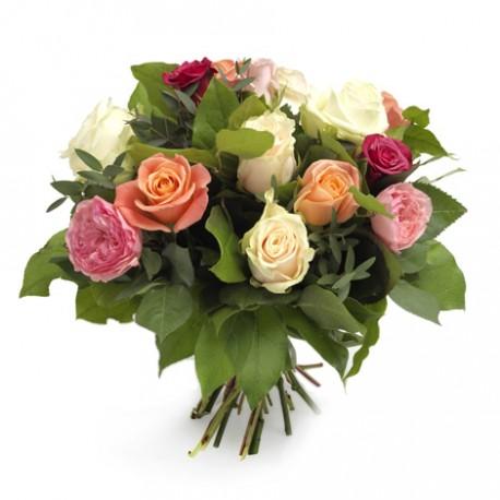 Greek Bouguet Mix Roses