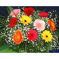 Bouquet mix gerberas  - Florist Patras city