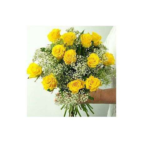 Bouquet yellow roses - Florist Patras city