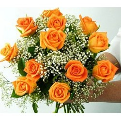 Bouquet orange roses - Florist Patras city