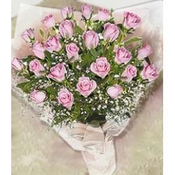Ανθοδεσμη ροζ Τριανταφυλλα  - Τιμη ανθοπωλειου Πατρας