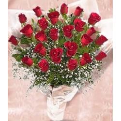 24 Κόκκινα Τριαντάφυλλα  - Τιμη ανθοπωλειου Πατρας
