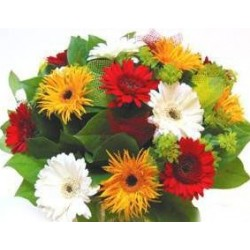 Flowers bouquet mix Gerbera