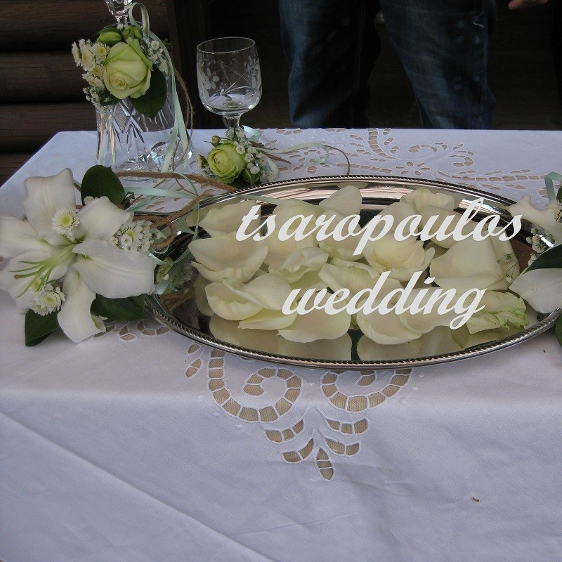 Greek Wedding in Athens by Tsaropoulos (Large) - Milva Flowers!