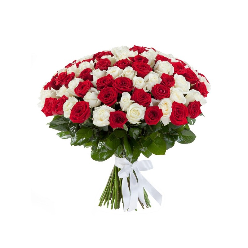Bouquet with 101 roses | florist in Greece | Flower bouquet 101 red ...
