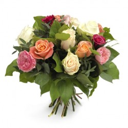 Greek Bouguet Mix Roses