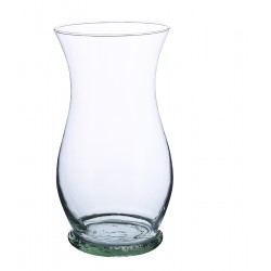Glass vase (Delivery only with flowers)
