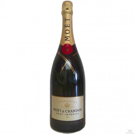 Bottle champagne Moet (Delivery only with flowers)