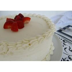White Torte Cake - Patras